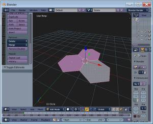 One mesh, three hexagons