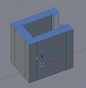 Extrude in the Z axis by 2 units