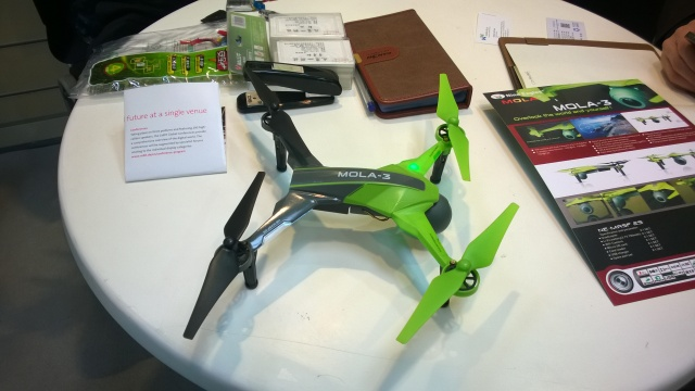 Quadcopter with ordinary iPhone or Android phone as control