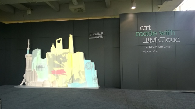 IBM does art