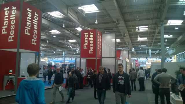 An example of CeBIT halls