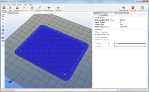 Print ready sliced object in RepetierHost