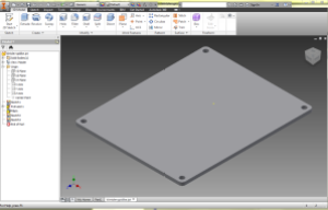 Extruded panel