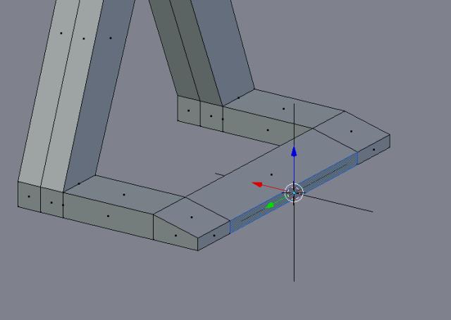 3D cursor on edge, Empty added at cursor
