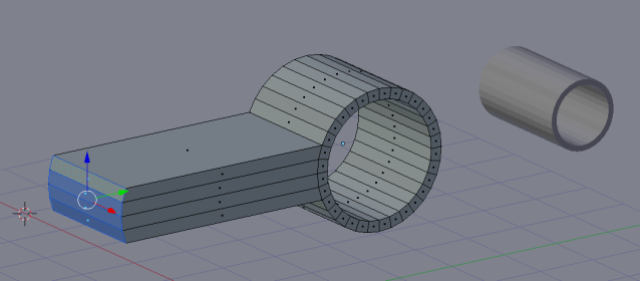 Extruding the swing arm