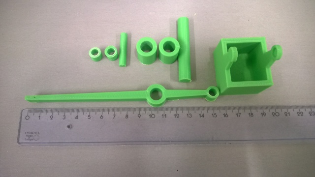 Printed moving parts