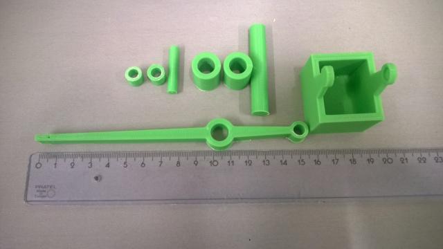 Printed moving parts